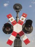 Железнодорожные знаки Стоковые Фотографии RF