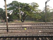 Железнодорожные пути стоковая фотография rf