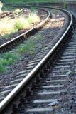 железнодорожные следы Стоковая Фотография