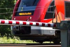 Железнодорожный барьер Стоковое фото RF