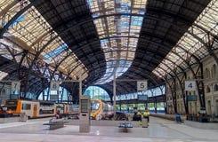 Железнодорожный вокзал Барселона Estacio de França стоковая фотография