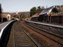 железнодорожный вокзал вдавленного места Стоковое Изображение RF