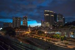 Железнодорожный вокзал Куалаа-Лумпур, Малайзия Стоковая Фотография RF