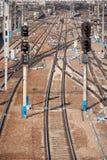 железнодорожный вокзал Стоковая Фотография RF