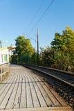 железнодорожный вокзал стоковое фото