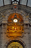 железнодорожный вокзал antwerp Стоковое Фото