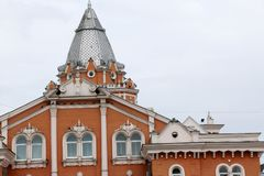 Железнодорожный вокзал Chernihiv, Украины Стоковое Фото