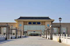 железнодорожный вокзал dunhuang Стоковые Изображения