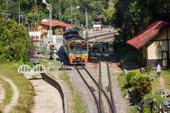Железнодорожный вокзал Khun Tan, Lamphun Таиланда Стоковая Фотография RF