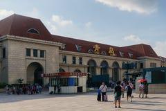 Железнодорожный вокзал Qingdao стоковое изображение