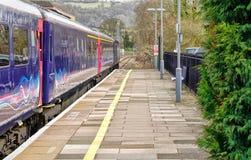 Железнодорожный вокзал Stroud, Cotswolds, Gloucestershire стоковое фото