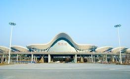 Железнодорожный вокзал Wuhan Стоковое Изображение RF