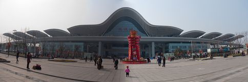 железнодорожный вокзал wuhan Стоковое Фото