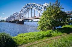 Железнодорожный мост Стоковое Изображение RF
