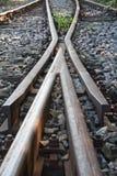 железнодорожный переключатель Стоковое фото RF