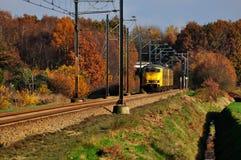 железнодорожный поезд Стоковые Фото