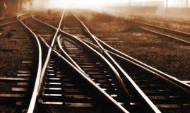 Железнодорожный след Стоковая Фотография