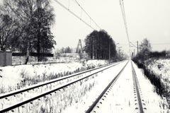 железнодорожный след Стоковые Изображения RF