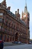 11/03/2018 железнодорожных станций Лондон St Pancras международных Стоковое фото RF