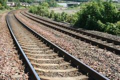 железнодорожные следы Стоковое Изображение RF