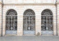 Железные двери, Португалия стоковое фото rf