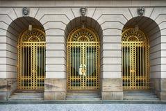 Железные двери Стоковые Фото