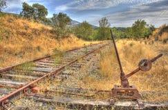 железные дороги изменителя Стоковое фото RF