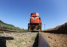 железные дороги индейца двигателя Стоковое фото RF