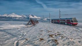 Железные дороги Tatra электрические Стоковые Изображения