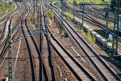 железные дороги v2 Стоковое Фото
