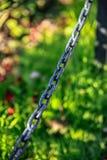 Железные звенья цепи Стоковая Фотография