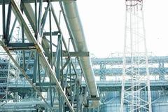 Железные лифты конструкции и зерна стоковая фотография