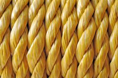 Желтая веревочка Стоковое Изображение
