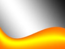 Желтая волна Стоковые Фото