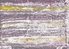 Желтая иллюстрация чертежа покрашенного мытья серого цвета Стоковое Фото