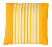 Желтая подушка. Изолировано Стоковая Фотография RF