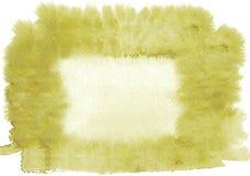 Желтая предпосылка акварели Красивейшая абстрактная предпосылка Оно ` s полезное для графического дизайна, фонов, печатей бесплатная иллюстрация