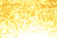 Желтая предпосылка рождества или Нового Года иллюстрация штока
