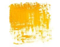 Желтая предпосылка grunge Стоковое фото RF