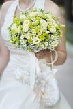 Желтая свадьба цветет букет стоковые изображения