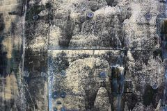 Желтая текстура Grunge, огорченная предпосылка Стоковое Изображение RF