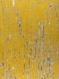 Желтая текстура Grunge Стоковые Изображения
