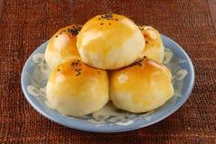 желток shortcake яичка стоковая фотография rf