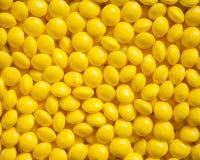 Желтые конфеты Стоковое Изображение