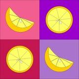 Желтые лимоны Стоковая Фотография