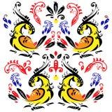 Желтые птицы Стоковые Фото