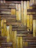 Желтый бамбук сделан по образцу стоковое фото rf