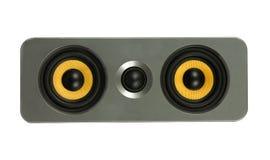 Желтый диктор Стоковое Изображение RF
