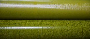 Желтый крен цветов печатного станка стоковое изображение rf