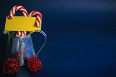 Желтый лист для ваших показателей, держателей конфеты Стоковые Фото